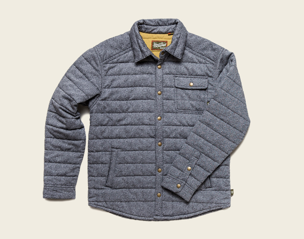 Esmont Jacket - Powder Grey Melange