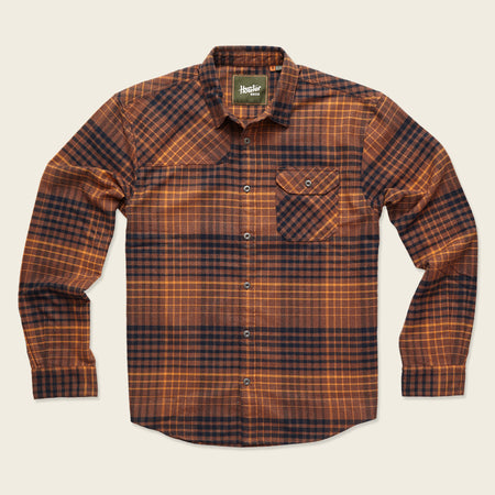 Harker's Flannel - Shadow Plaid