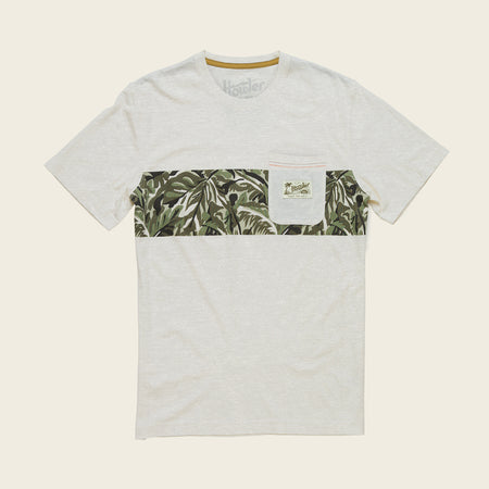 Verde Jungle Stripe Pocket T