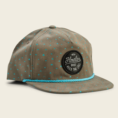 Cheops Print Snapback - Green/Black
