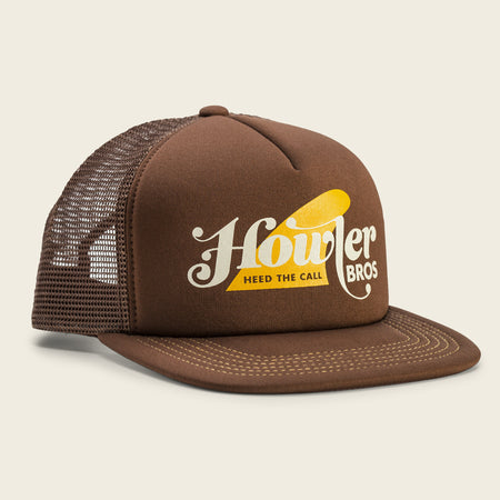 Howler Fin Snapback - Brown