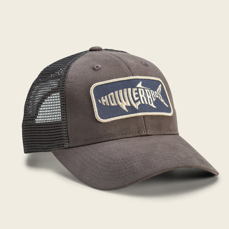 Silver King Hat - Charcoal Grey