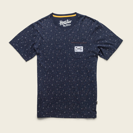 Pocket T-Shirt- Archipelago Dot