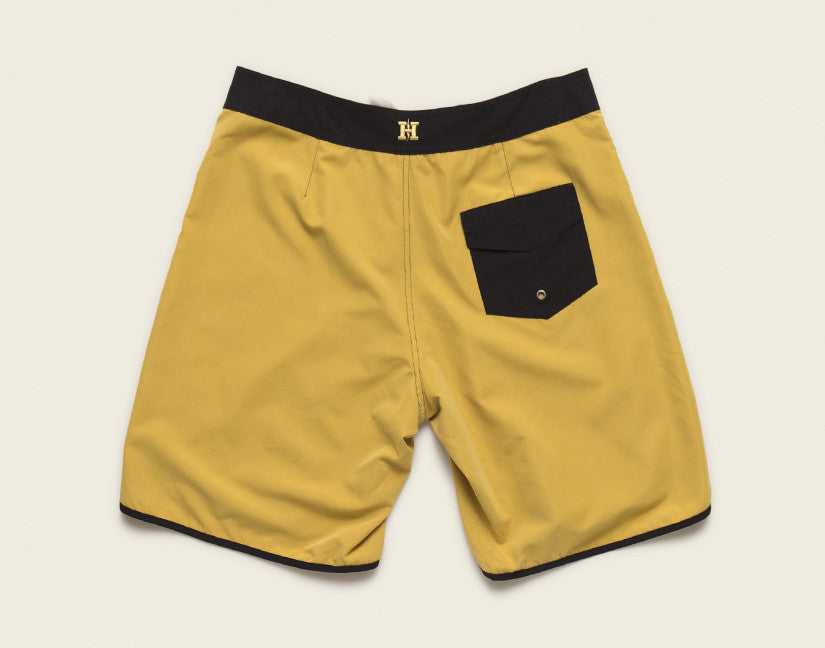Bruja Boardshorts - Enter The Dragon Yellow