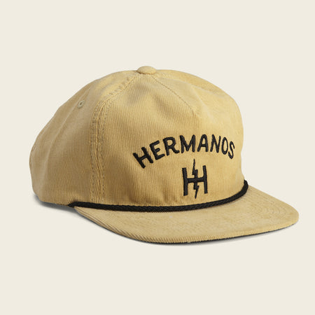 Hermanos Snapback - Yellow Cord