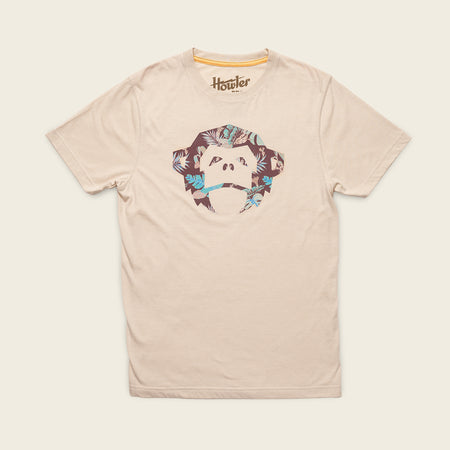 El Mono Third Coast T-Shirt - Cream