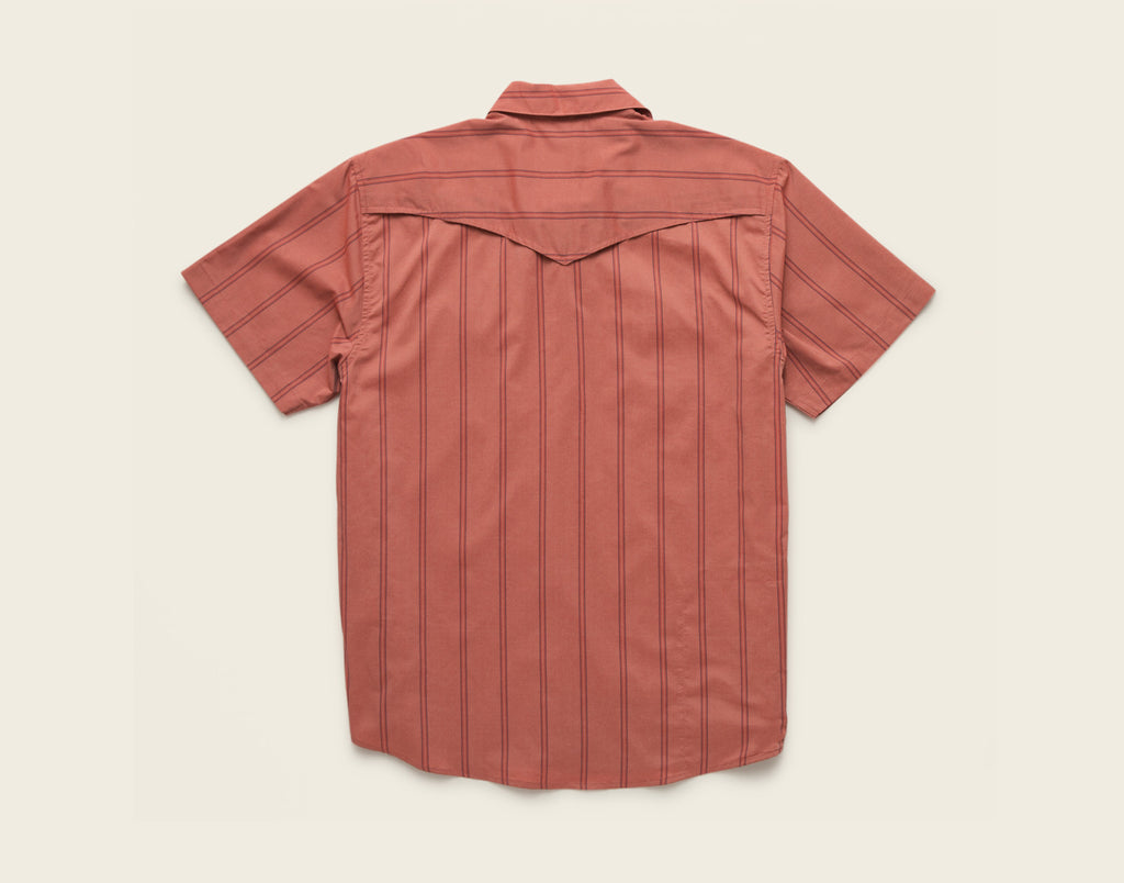 H Bar B Tech Shirt - Relic Stripe