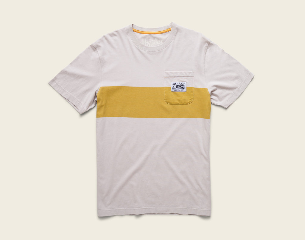 Paradise Stripe Pocket T-Shirt