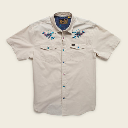 H Bar B Snapshirt - Cosmic Crawfish