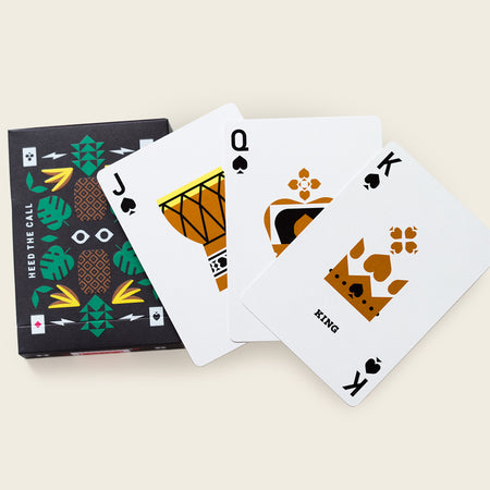 Deck of Playing Cards - Jay Fletcher Artist Series