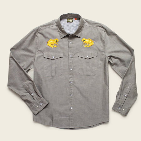 Howler Brothers x Indifly : Gaucho Snapshirt - Golden Frog