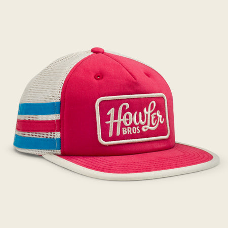 Howler Classic Snapback - Red Stripes