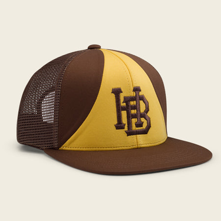 HB Padre Snapback - Yellow/Brown