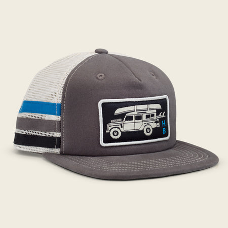 Pilgrimage Snapback - Grey Stripes