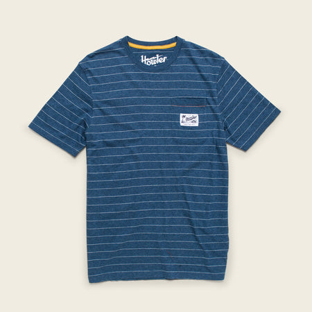 Chalk Stripe Pocket T