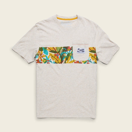 Cloud Forest Stripe Pocket T