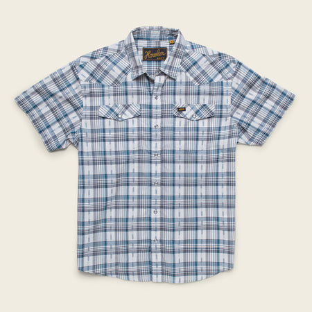 H Bar B Snapshirt - Brooks Plaid