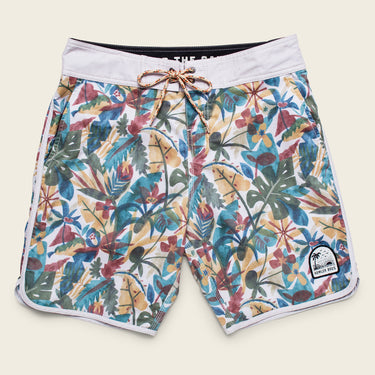 Stretch Bruja Boardshorts - Cloud Forest Pattern