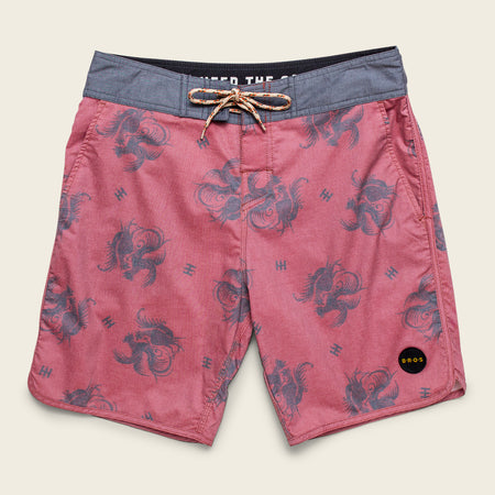 Stretch Bruja Boardshorts - Prize Fight Pattern