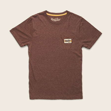 Howler Electric Stripe Pocket T