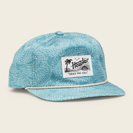 Prickly Pear Print Snapback - Seaspray