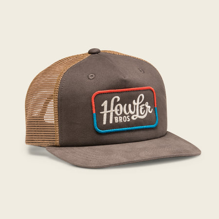 Howler Classic Snapback - Charcoal / Red / Blue