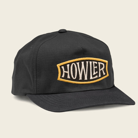 c86df6d9e8433 Endless Howler Snapback - Black  30.00