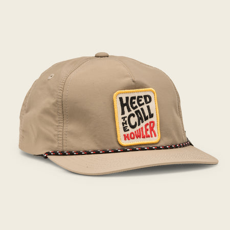 HTC Vibrations Snapback - Tan Nylon