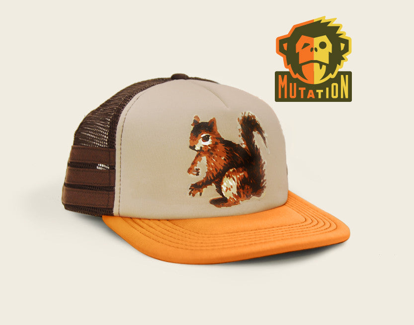 Squirrel Snapback Hat