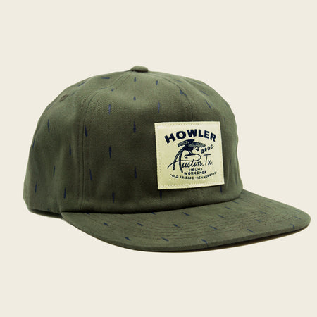 Howler x Helms Workshop Unstructured Hat - Texas Bird of Paradise