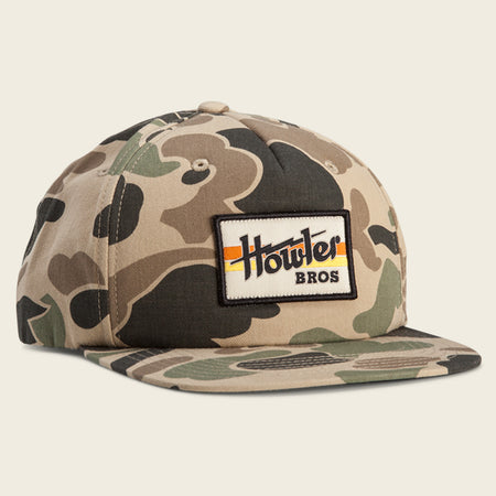 Howler Electric Stripe XL Snapback - Camo