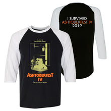 Load image into Gallery viewer, ASHTOBERFEST IV BASEBALL T-SHIRT