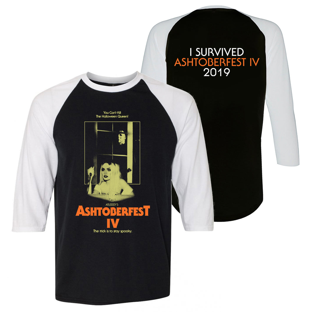 ASHTOBERFEST IV BASEBALL T-SHIRT