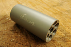 ".223 / 5.56 Linear Compensator 1/2""-28 Threads 303 Stainless FDE Duracoat"
