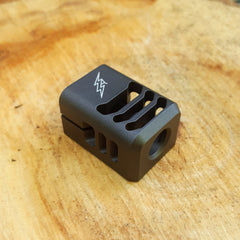 ARCHON MFG GLOCK COMPENSATOR 1/2-28 9MM LIMITED EDITION TUNGSTEN DURACOAT