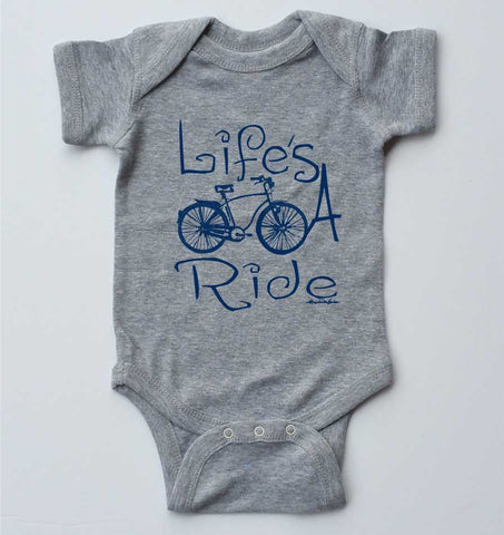 Life's a Ride-Baby One-piece