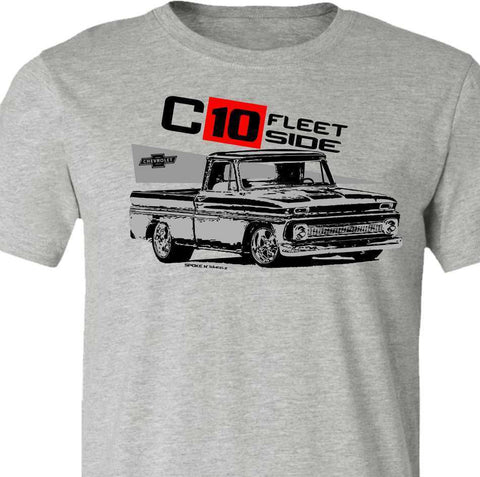 Classic Chevy Truck-Vintage 1965 Chevy C10 Fleetside