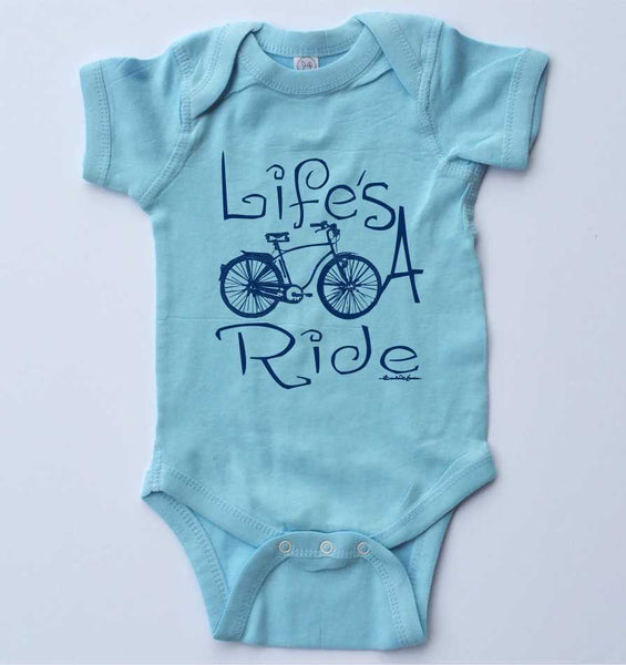 Life's a Ride-Baby One-piece-3 Colors Available
