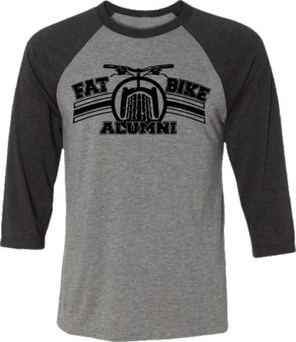Fat Bike Alumni-Baseball Tee