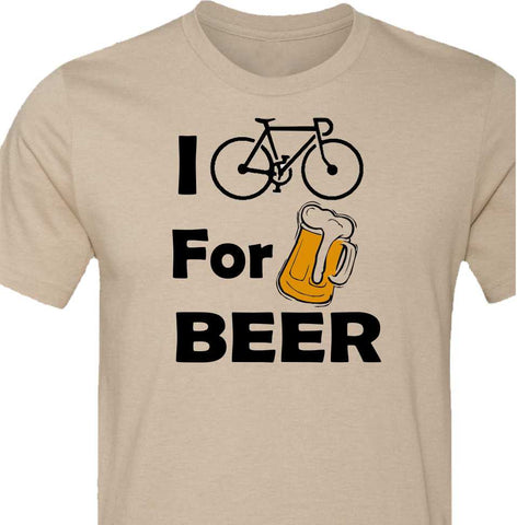 I Bike for Beer-Road Bike-Available in 4 Colors