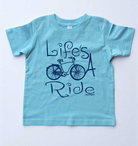 Life's A Ride-Toddler T-Shirt