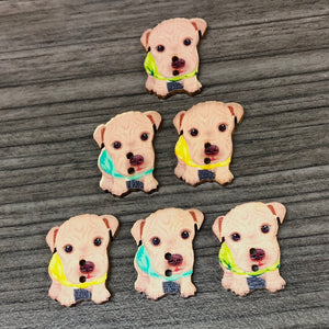 Abbey The Dog Buttons