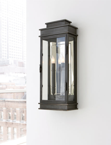 Visual Comfort Tall Linear Lantern // Please contact us for pricing