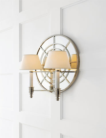 Global Double Arm Sconce // Please contact us for pricing // * Free shipping