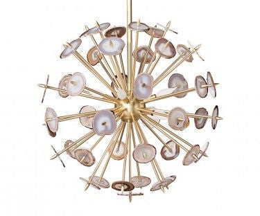 Agate Burst Chandelier // * Free Shipping // Please contact us for pricing