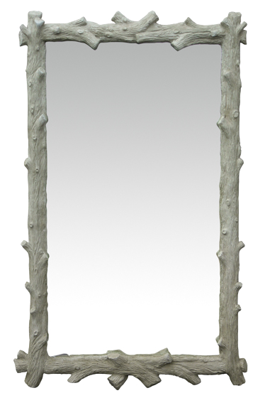 Oly Studio Faux Bois Mirror // Please contact us for pricing // * Complimentary Shipping