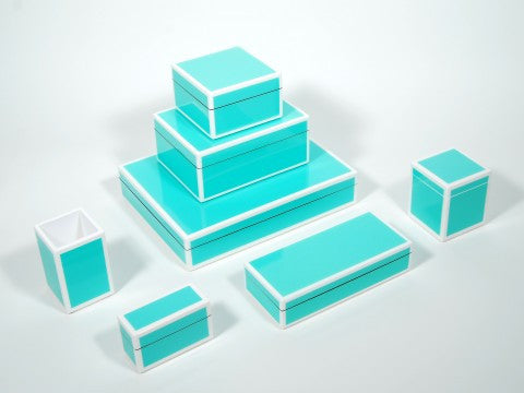 Lacquer Box Collection | Turquoise // * Free Shipping