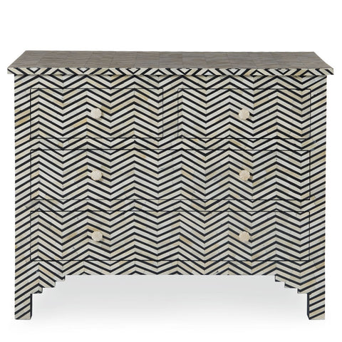 Herringbone Drawer Cabinet // Please contact us for pricing