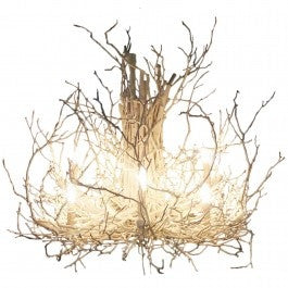 Twig Chandelier // Please contact us for pricing // * Free Shipping