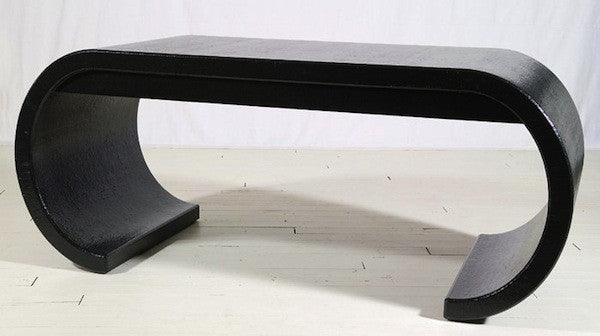 Karl Springer Waterfall Desk